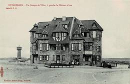 Duinbergen Un Groupe De Villas à Gauche La Château D'eau Ed.Sugg Série 33 N° 11 - Knokke