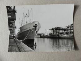 """Dieppe Le Port Bananier, Bateau Cargo """"Bayard"""" - Dieppe"""