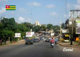 Togo Lomé Street View New Postcard - Togo