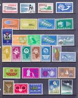 Nigeria 1960 - 63     13 Serie Cpl.  Tra I N°/ N° Yv. 93 E 152 Tutti MNH** - Nigeria (1961-...)