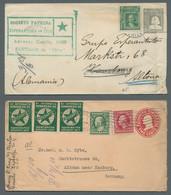 Thematik: Esperanto: 1905-1920, Partie Von 14 Briefen Und Ganzsachen Aus Europa Und Amerika, Darunte - Esperanto