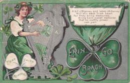 SAINT PATRICK'S DAY, PU-1909; Erin Go Bragh - Saint-Patrick's Day