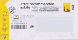 Prêt à Poster Lettre Recommandée Mobile R1AR Lot 47K/243817 - PAP : Altri (1995-...)