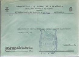 CARTA ALCIRA 1971 - Franquicia Postal