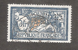 Perforé/perfin/lochung France Merson No 123 BP Banque De Paris Et Des Pays Bas (147) - Gezähnt (Perforiert/Gezähnt)