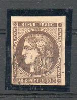 N°47 OBLITERE BELLES MARGES SANS AUCUN DEFAUT COTE280 PRIX DEPART 45 E - 1870 Bordeaux Printing