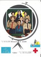 """Cahier """"l'Ecolier"""" Couverture Scoutisme - S"""