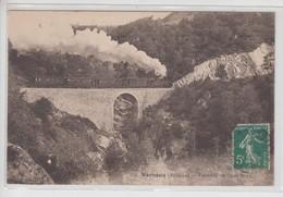CPA Vernoux - Tramway De Saint-Péray (avec Train Sur Viaduc) - Vernoux