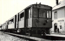 PHOTO ODEILLO 1964 @ TRAIN  @ - Otros Municipios