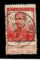 N°111, Relais/sterstempel OOST-NIEUWKERKE 28/10/1912 - 1912 Pellens