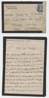 Guerre14, Contrôle Postal Militaire,79,lettre Poilu à Sa Marraine De Guerre,Comtesse De Marolles, Cachet  San Sebastian, - 1914-18