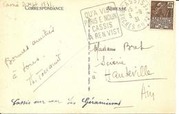 Cassis ( Bouches Du Rhône) - Daguin En Provençal - QU'A VIST / PARIS NOUN / CASSIS / A REN VIST - Annullamenti Meccanici (pubblicitari)