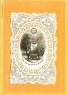 CANIVET IMAGE RELIGIEUSE DE 18..APRES L EXIL SUR LA TERRE LA VIE ETERNELLE SCANNE SUR FOND COULEUR POUR MIEUX DECOUVRIR - Devotion Images