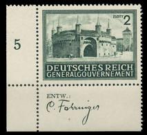 GENERALGOUVERNEMENT 1943 Nr 113 Postfrisch ECKE-ULI X8B5112 - Occupazione 1938 – 45