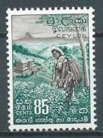 Ceylan YT N°299 Cueillette Du Thé Neuf ** - Ceilán (...-1947)