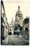 75018 PARIS - Vieux Montmartre - Rue De La Barre - Animée, Magasin De Cartes Postales - Paris (18)