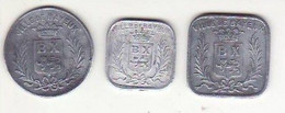 Bayeux - Lot De 3 - Monetari / Di Necessità