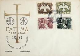 1951 Portugal Encerramento Do Ano Santo (Fátima) - FDC