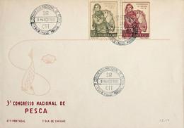 1951 Portugal 3º Congresso Nacional De Pesca - FDC