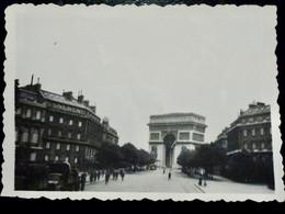 PHOTO ORIGINALE WW2 WWII : WEHRMACHT à PARIS _ OCCUPATION        //BaK.L2 - Guerra, Militares