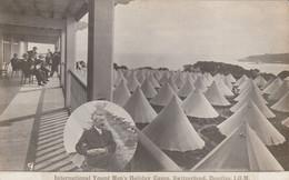 Angleterre  International Young Men's Holiday Camp Swiitzerland Douglas Iom - Altri