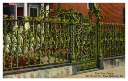 Louisianna New Orleans  The Corn Fence  915 Royal St. - Other