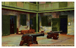 Louisianna New Orleans Courtyard And Prison Rooms In The Cabilido - Other