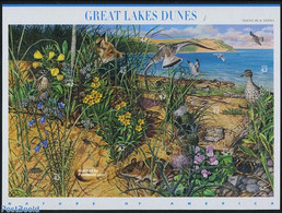 United States Of America 2008 Great Lake Dunes 10v M/s, (Mint NH), Nature - Animals (others & Mixed) - Butterflies - Ins - Nuevos