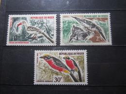VEND BEAUX TIMBRES DU NIGER N° 190 - 192 , XX !!! (g) - Niger (1960-...)