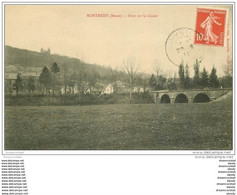 55 MONTMEDY. Pont Sur La Chiers 1911 - Montmedy