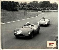 25 R SALVADORI CHAPMAN 1957 CRYSTAL PALACE 25*20CM MOTOR RACING RACE Car Course D'automobile - Auto's