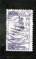 BOLIVIE     1938  Poste Aérienne  Y. T. N° 40  à  48  Incomplet  Oblitéré  48 - Bolivien