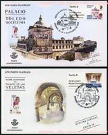 ESPAÑA SPAIN ESPAGNE (2020) - ATMs Exposicion EXFILNA 2020 CACERES - EXFILNA VIRTUAL X COVID 19 - FDCs - FDC
