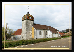 25  DESERVILLERS   ... L'église - Other Municipalities