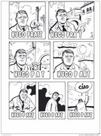 BANDES DESSINEES    DESSIN DE BERNARD VEYRI COUVERTURE DE LDC N°78  HUGO PRAT (1995) - Comics