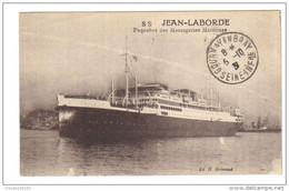PAQUEBOT   SS   JEAN  LABORDE    DES   MESSAGERIES MARITIMES - Steamers