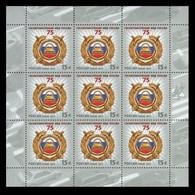 Russia Russland Russie 2011   Russian Traffic Police (GAI) - 75. Sheetlet Of 9 MNH ** - Volledige Vellen