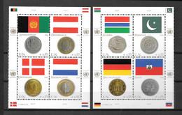 2006 - 488 à 495**MNH  - Drapeaux Et Monnaies - Unused Stamps
