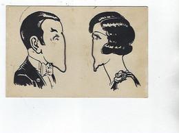 Carte à Système D'un Couple Avec Chaînes Pour Dessiner Le Nez - Móviles (animadas)