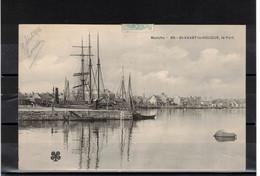 CPA 50 - SAINT VAAST LA HOUGUE  ( Ref SV 67 ) Le Port - Saint Vaast La Hougue