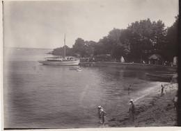 FINISTERE BEG MEIL ARRIVEE BATEAU 1931 - Boats