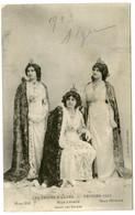 1/ CPA ALGER  LES REINES D'ALGER Février 1913 Mlle Bès /  Mlle Lesage / Mlle Monica - Mujeres