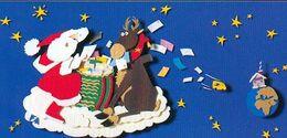 Carte NOEL Envoyée Aux Enfants Par Secrétariat Père Noël - Santa Claus