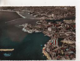 CPA.13.Marseille.Vué Aérienne Sur Corniche,Plage Des Catalans,Port De La Joliette. - Altri
