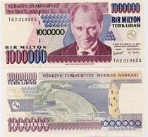 TURKEY        1,000,000 Türk Lirası        P-213       L. 14.1.1970 (2002)        UNC  [ 1000000 ] - Turquia