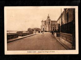 Cartolina Torre Di Faro Messina Canale Tra Il Lago E Il Mare - Messina