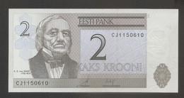 Estonia - Banconota Non Circolata FDS Da 2 Corone P-85b - 2007 #18 - Estonia