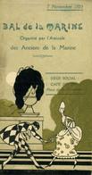 Carnet De Bal: Publicité Du Mans - Bal De La Marine 1925 - Publicidad