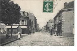 93 - BONDY - T.Belle Vue Animée De La Rue St Denis - Bondy