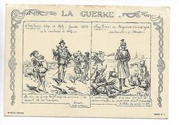 GUERRE 14 18 Collection LA GUERRE Siège De METZ 1553 / Proclamation STENGER En Argonne  Série 1 Non Voyagé  ....G - Oorlog 1914-18